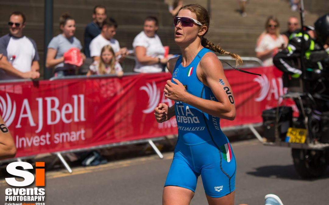 ITU World Triathlon Leeds Elite Womens Race 10th June 2018