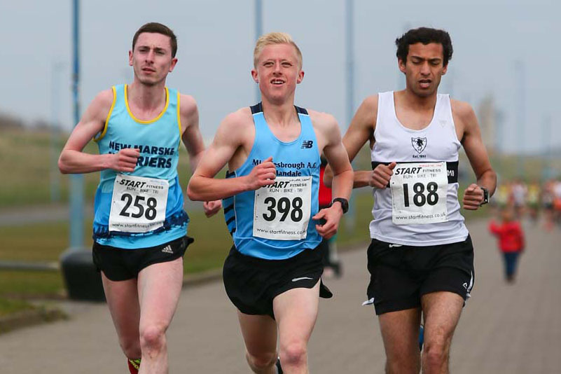 Burn Road Harriers Marina 5 Mile Sunday 14th April 2019